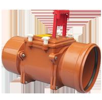 PVC-U възвратни клапи за канализация
