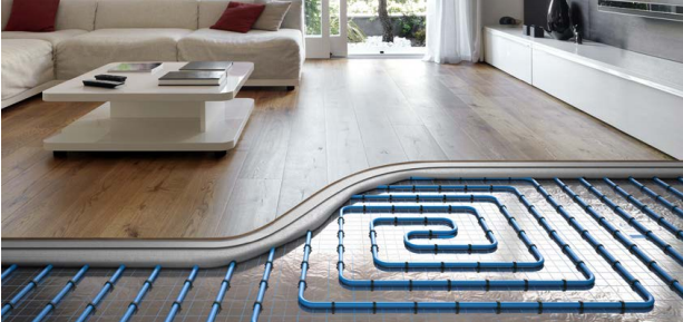 система KAN-therm водно подово отопление