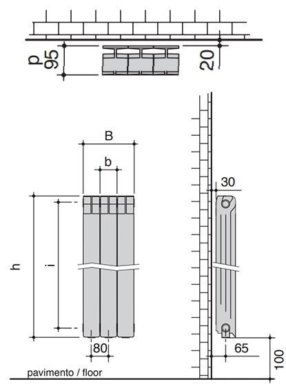 алуминиеви радиатори KALDO - от РУВИК